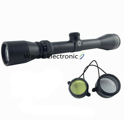 3-9X40 Tactical Reflex Riflescope w/Free Mount Shotgun Rifle Hunting