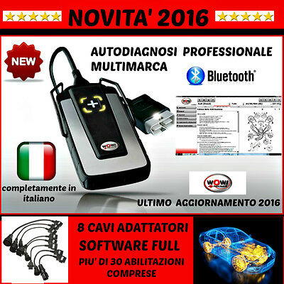 Autodiagnosi Multimarca Professionale W.0.w. Novità 2016 Auto Diagnosi