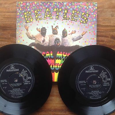 The Beatles Magical Mystery Tour EP (Parlophone SMMT) 1967 STEREO 1st Press