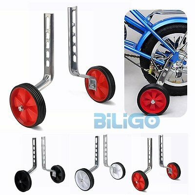 "Children Kids 12-20"" Inch Bicycle Bike Cycle Support Stabilizers Training Wheels"