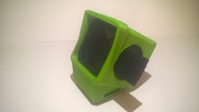 GoPro Session quadcopter mount /case Flexible 3D printed Mid angle