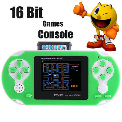 "2.7"" Handheld Gaming Console Portable Video Game 150+ Games Retro Megadrive PXP"