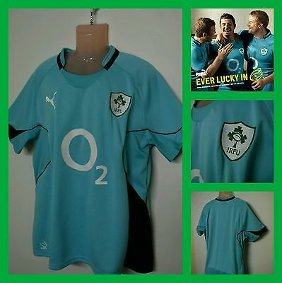 Ireland Puma Rugby Union jersey xxl IRFU excellent condition.