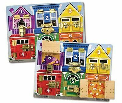 Wooden Latches Board - Melissa And Doug