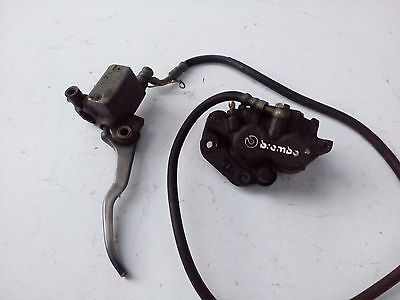 Bmw F650 ST Funduro, Brembo Front master cylinder, front Caliper, brake line