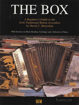 The Box Irish Traditional Button Accordion Learn How to Play Method & Music Book