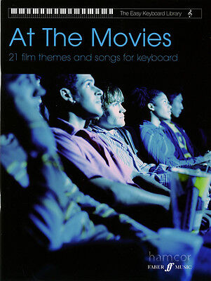 At The Movies The Easy Keyboard Library Sheet Music Book