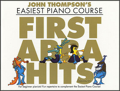 First Abba Hits John Thompson's Easiest Piano Course Very Easy Sheet Music Book