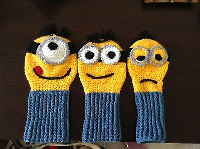 DINIONS. Minion Lookalikes Golf Club Cover
