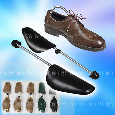 6 Pairs Quality Mens Traditional Shoe Tree Plastic Shaper Stretcher Size 6-10 NE