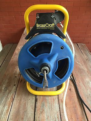 Brass Craft Electric Drive Sewer And Drain Cleaning Machine Heavy Duty !!!