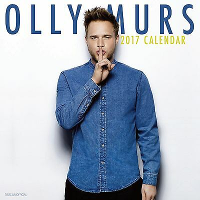 Olly Murs premium Calendar 2017 with free pull out poster
