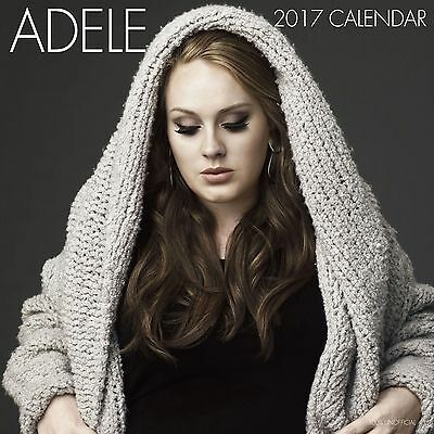 Adele Calendar 2017 with free pull out poster
