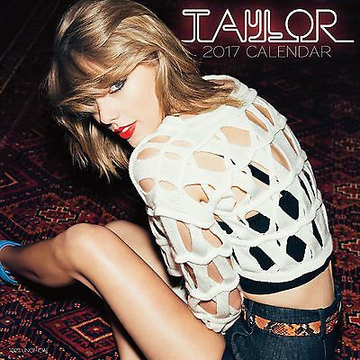 Taylor Swift premium Calendar 2017 with free pull out poster