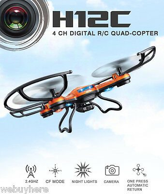JJRC 2.4G RTF Drone 4CH 6-Axis RC Quadcopter with 2.0MP 1080P Camera+1 set Props