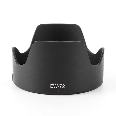 EW-72 Replace Bayonet Mount Flower Lens Hood for Canon EF 35mm F/2 IS USM Black