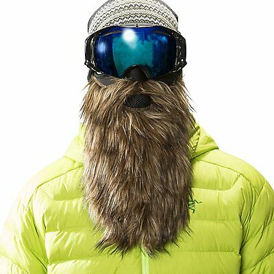 Beard Ski Mask Mens Snowboarding Cover Protector Face Gear Hat Winter Snow Cold