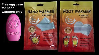 Hand Foot Feet Warmers Heat Warming Pack Insole Gloves Pocket Heaters Warmth