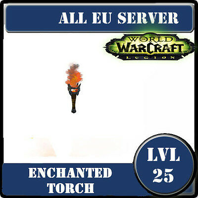 WoW Pet lvl 25--Enchanted Torch--Torche enchantée--EU server