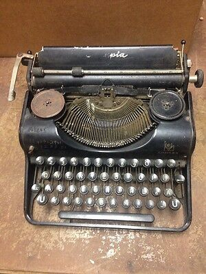 Antique Vintage Olympia Simplex Germany Mechanical Typewriter