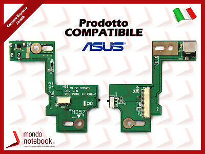 DC POWER JACK Switch BOARD Scheda Connettore alimentazione ASUS N53SV
