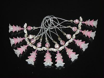 10 Pink ANGELS-Christening/New Baby/Kid's Party charms 40mm,Birthday souvenirs
