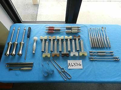 V Mueller Codman Jarit Synthes Howmedica Surgical Orthopedic Instruments