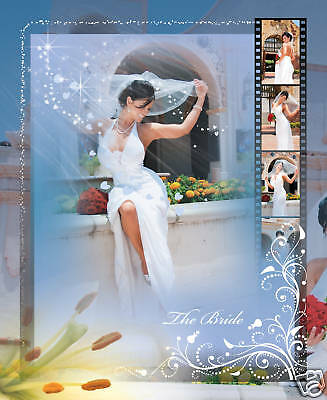 ELEGANT WEDDING PHOTO ALBUM PSD TEMPLATES Volumes 1- 5! *