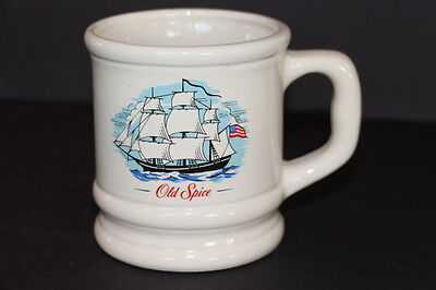 Vintage Old Spice Pottery GRAND TURK Shaving Soap Mug