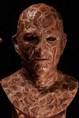 Halloween freddy silicone mask from sinister studio