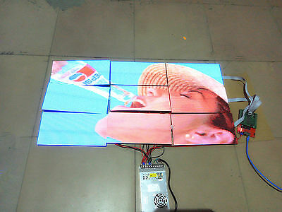"""19""""x38"""" P5 i5AF LED Video Wall Asynchronous Programmable Full Color LED SIGN DIY"""