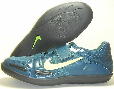 New Nike Zoom SD 3 Shot Put Discus Throw Track & Field Shoes Sz 12.5 Green Volt