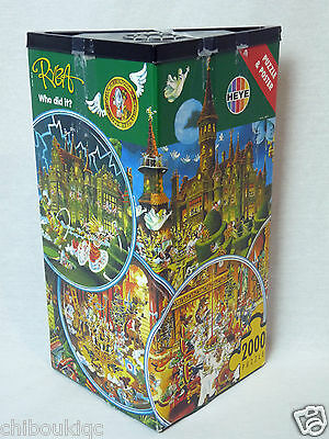 Heye Ryba Who Did It puzzle 2000 pieces 8675