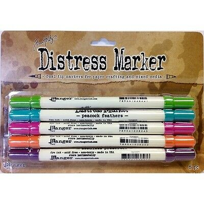 Tim Holtz Distress Markers Marketplace Dual Tip TDMK40903