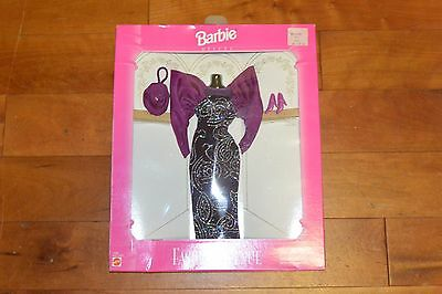 Barbie 1995 Fashion Avenue Deluxe Outfit NRFB #14306 Purple Evening Gown