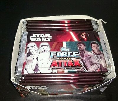 Topps Star Wars Force Attax Trading Cards Brand New Out Full Box