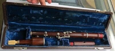 Hand Made Rosewood WOOD FLUTE with box READ DESCRIPTION!!!!