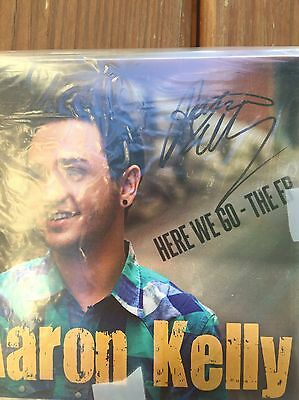Aaron Kelly Signed CD