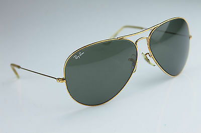 Vintage Ray-Ban * AVIATOR * LARGE METAL 62MM B&L  U.S.A + Case