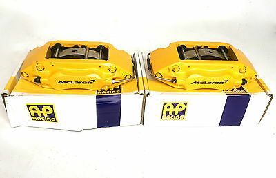 AP Racing CP7545 4 Pot Piston Brake Calipers Pads McLaren Cosworth M3 Evo Brembo