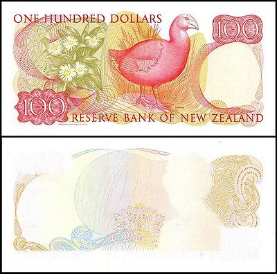 New Zealand $100 Dollars, 1981, P-175s, AUNC, Specimen Proof