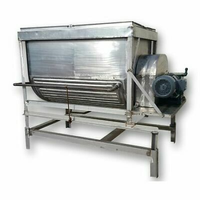 Used Stainless Steel Jacketed Paddle Blender Mixer