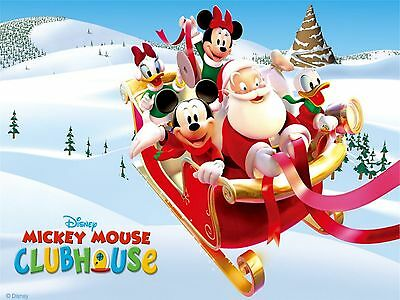 Personalized letter from Santa with Mickey Mouse Clubhouse gifts