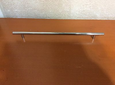 "018A  VTG Extra Large MidCentury Handle In  A Stainless Steel. 16-1/4"" Long"