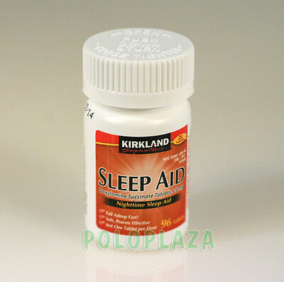 KIRKLAND Signature Nighttime SLEEP AID, Doxylamine Succinate  25mg, 96 Tablets