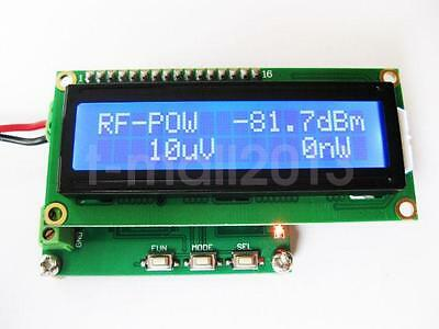 New Digital LCD RF Power Meter 0-500Mhz -80 ~10 dBm Radio Frequency Power Meter