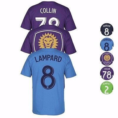 MLS Assortment of Team Player Jersey T-Shirt Collection by ADIDAS - Men's