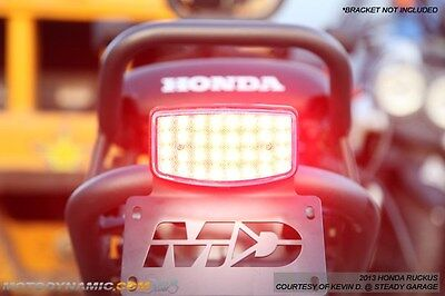 2003-2016 Honda Ruckus Scooter SEQUENTIAL Turn Signal LED Tail Light Clear Lens