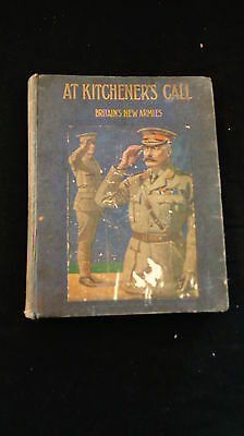 """"""" At Kitchener's Call"""" By Edgar Wallace WW I"""