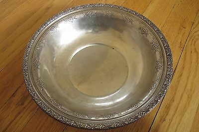 Alvin Large Sterling Silver 925 Bowl 267 grams S112